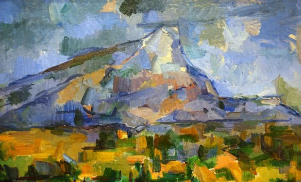cezanne mountain piece